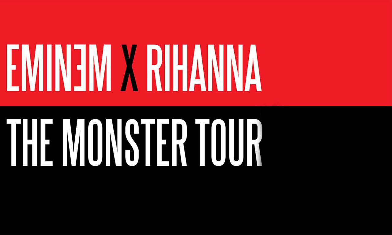 The Monster Tour Eminem X Rihanna At Metlife Stadium On