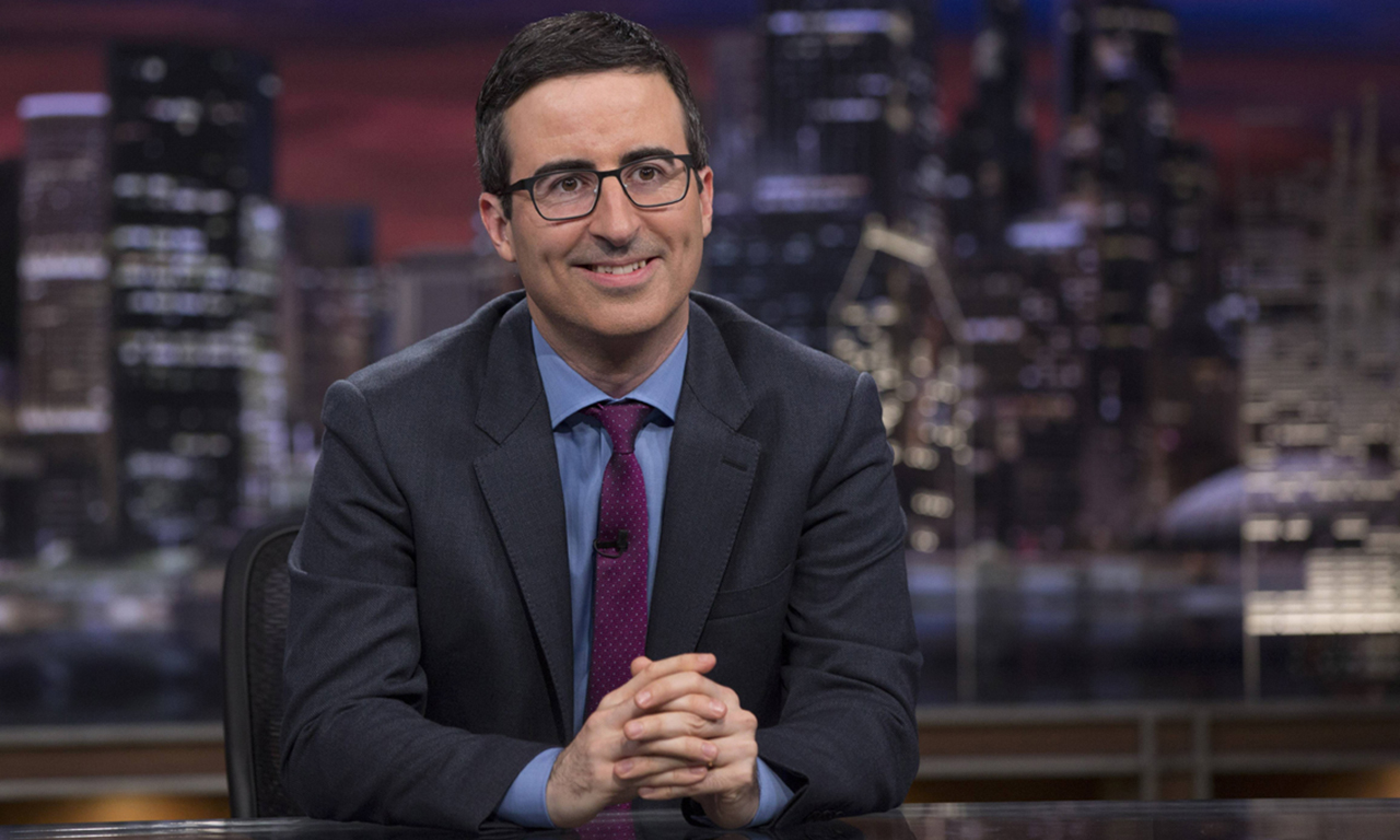 CANAAN HESS: John Oliver is the next big political satirist