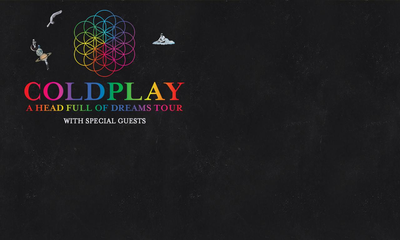 Coldplay Tour  Ad Houston