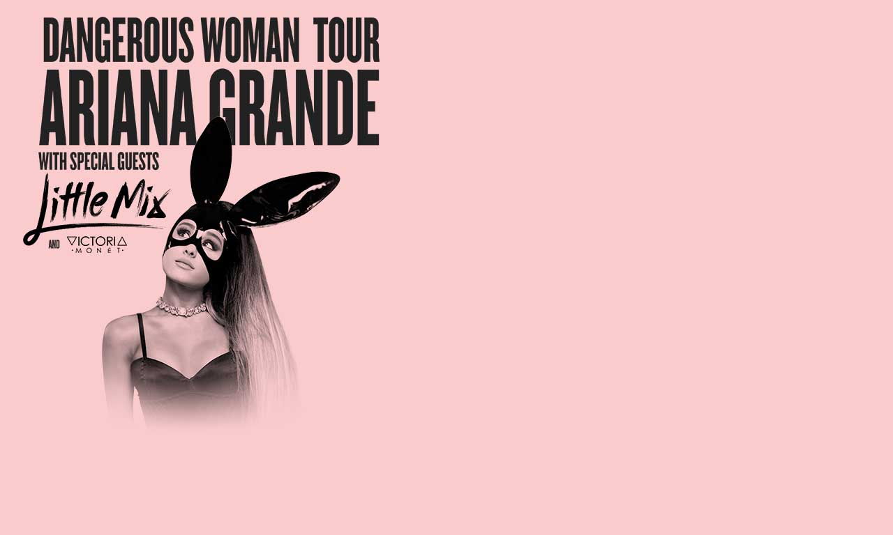Ariana Grande Dangerous Woman Tour At Mgm Grand Garden Arena On Sat