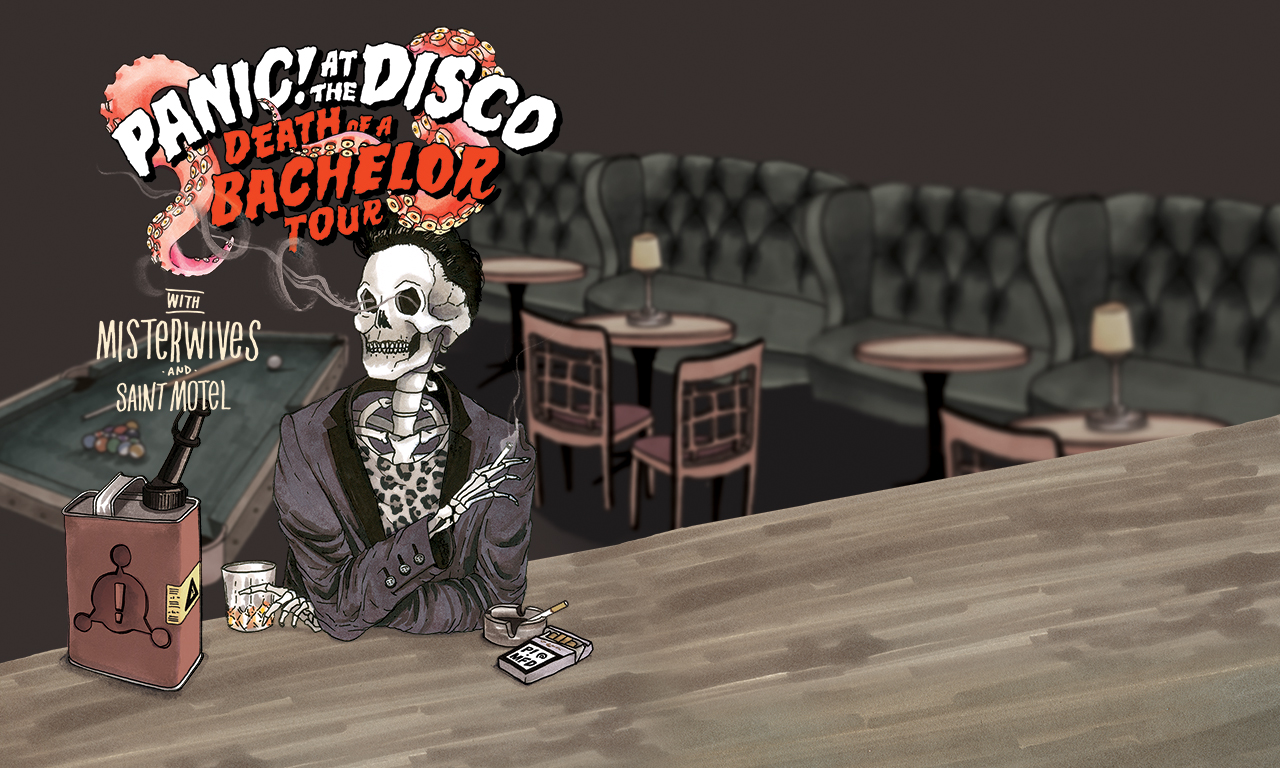Panic At The Disco Death Of A Bachelor Tour At Allstate Arena On