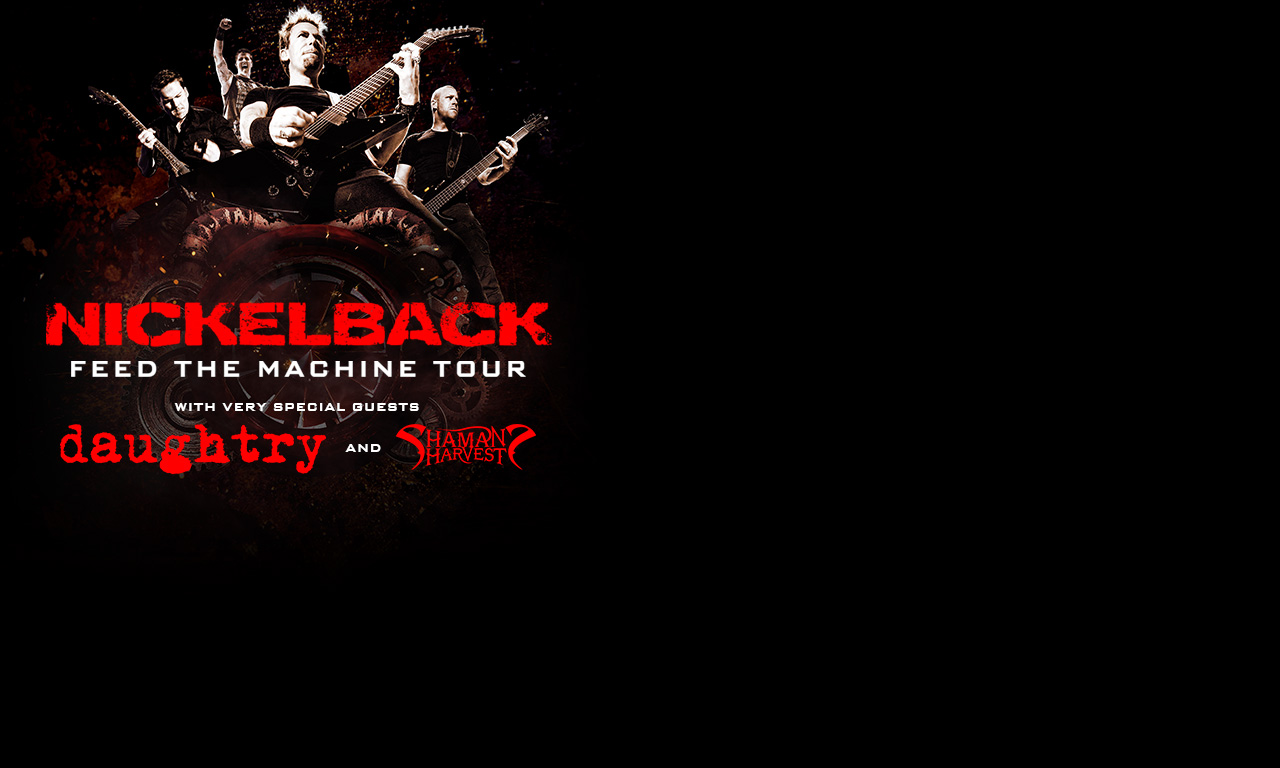 Nickelback feed the machine tour at xfinity center on sat jul 8 nickelback feed the machine tour at xfinity center on sat jul 8 2017 600 pm edt live nation m4hsunfo