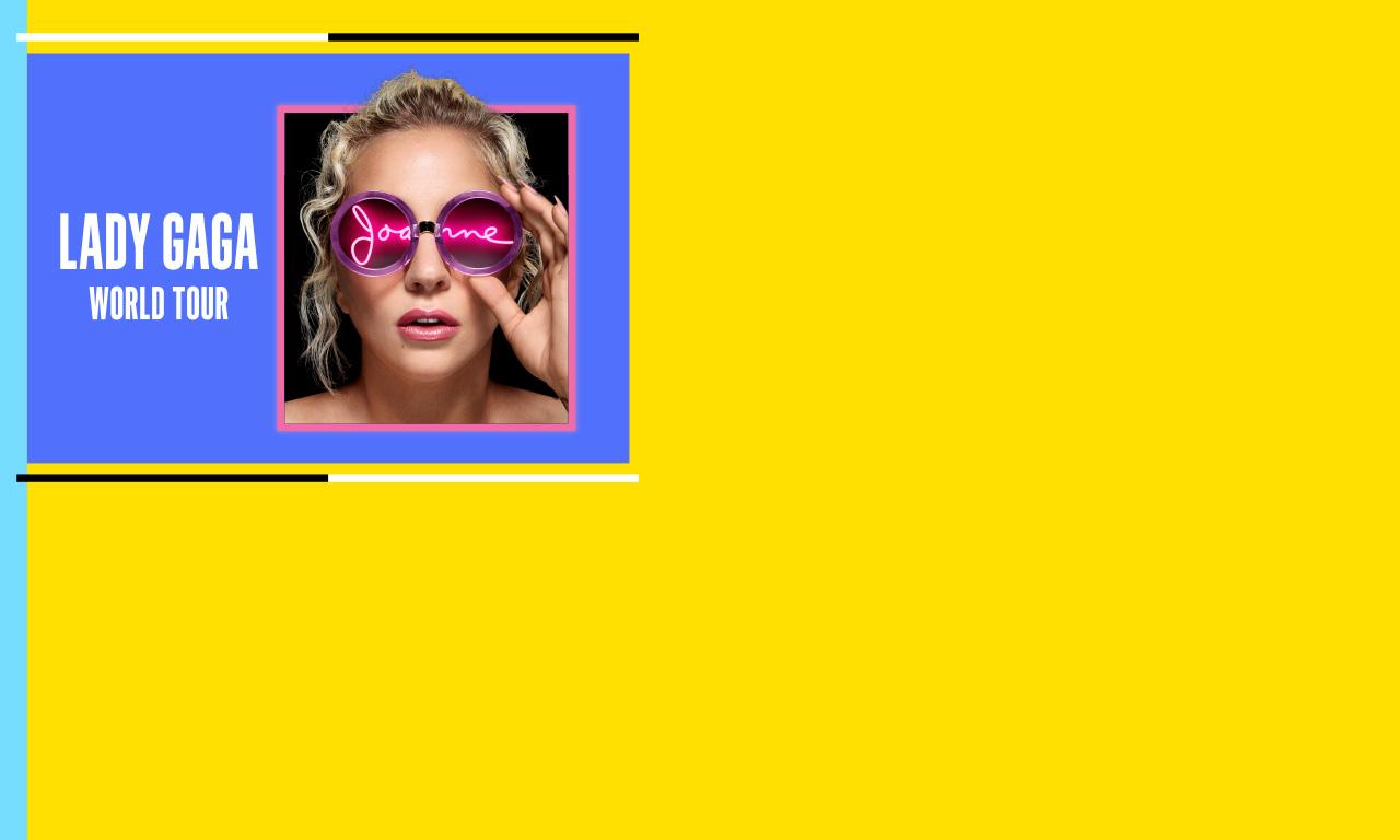 Lady Gaga Joanne World Tour At Amalie Arena On Fri Dec 1 2017 730