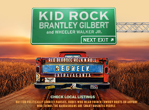 Kid Rock+Brantley Gilbert: Red Blooded RocknRoll Redneck Extravaganza