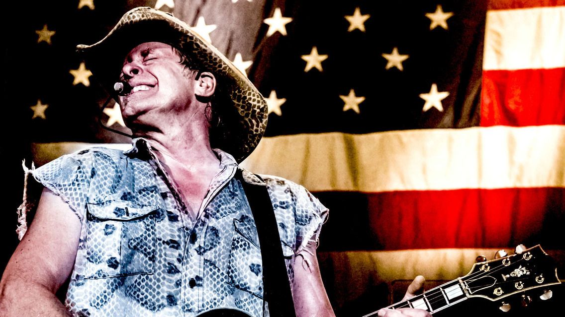 ted nugent at stage ae on tue aug 16 2016 6 30 pm edt live nation. Black Bedroom Furniture Sets. Home Design Ideas