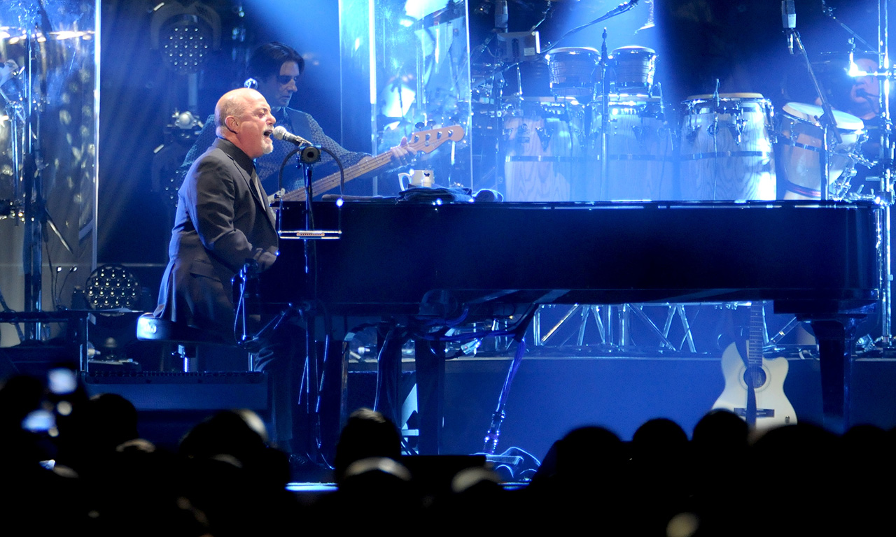 Billy Joel In Concert at Madison Square Garden on Wed Feb 22