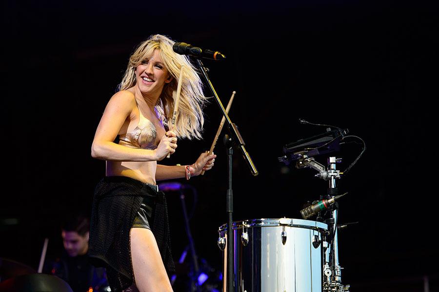 Ellie Goulding at Madison Square Garden on Tue Jun 21 2016 800