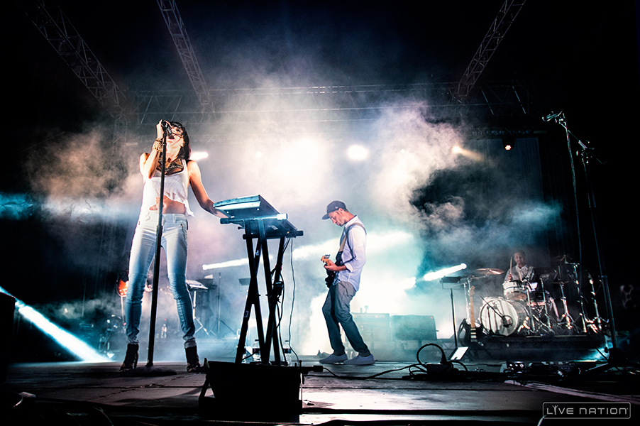 Image result for Phantogram on stage