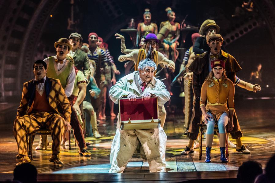 Cirque du Soleil- Kurios - Cabinet of Curiosities at Hard Rock ...