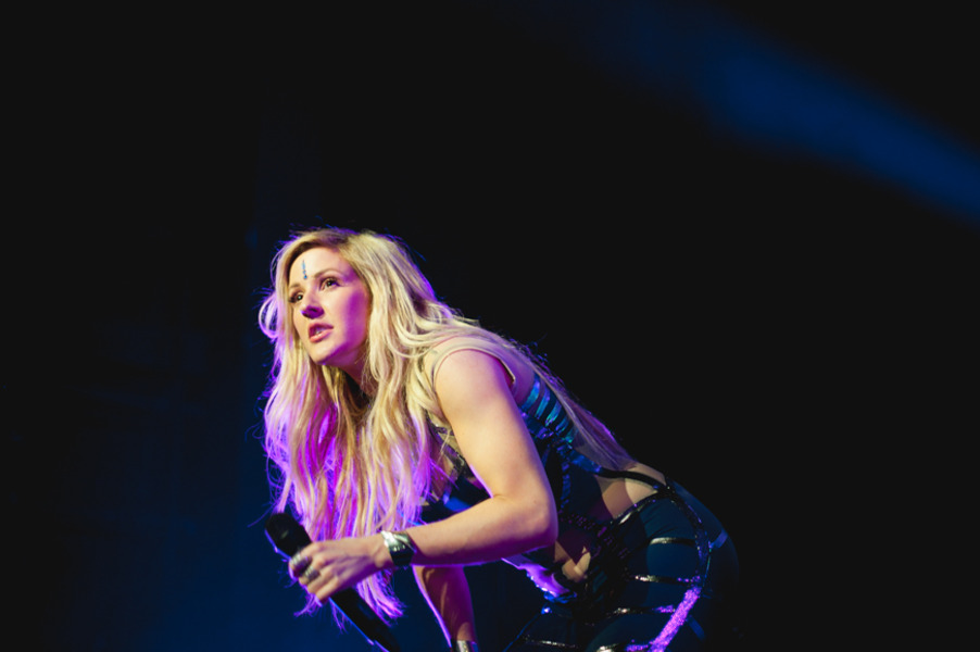 Ellie Goulding at Madison Square Garden on Tue Jun 21 2016 800