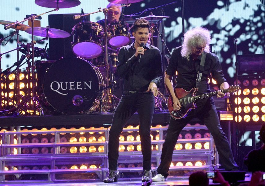 Image result for queen & adam lambert